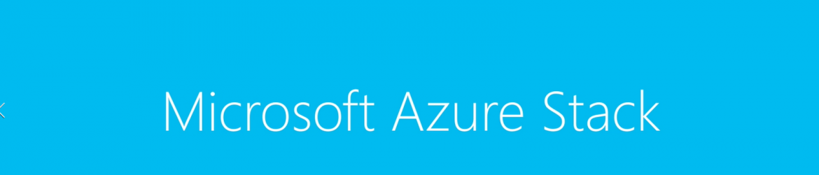 MSFT-Azure-Stack